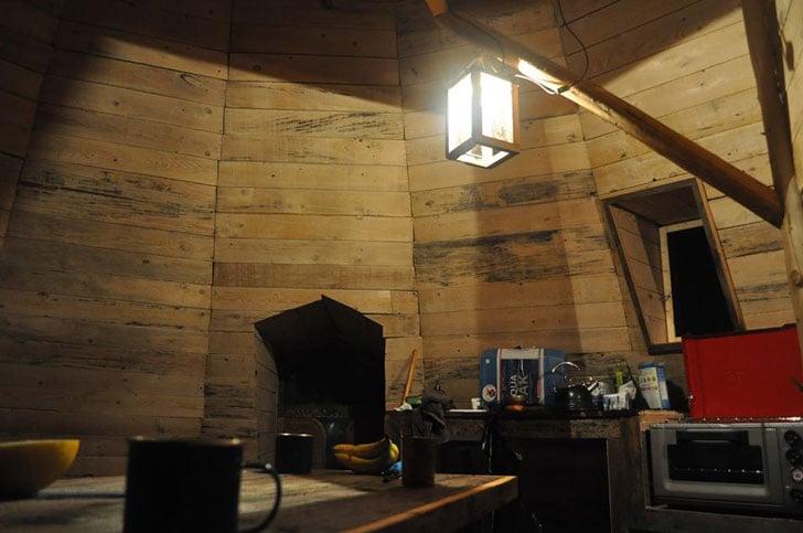 4 Season Off-Grid Tipi Accommodation