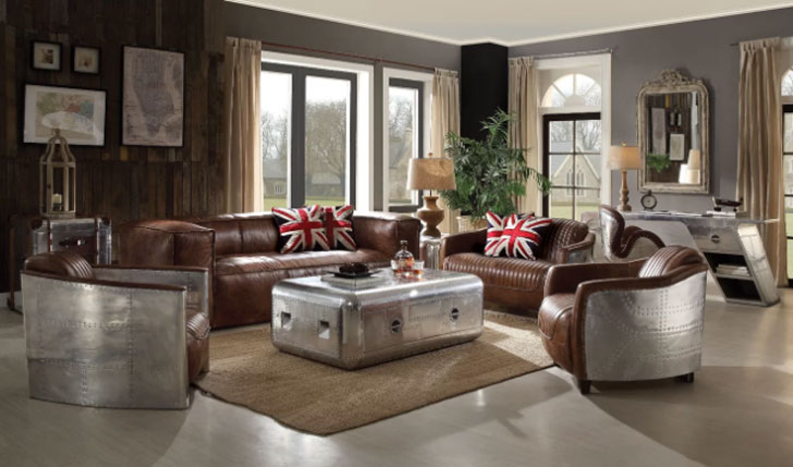 Annessia Configurable Living Room Set