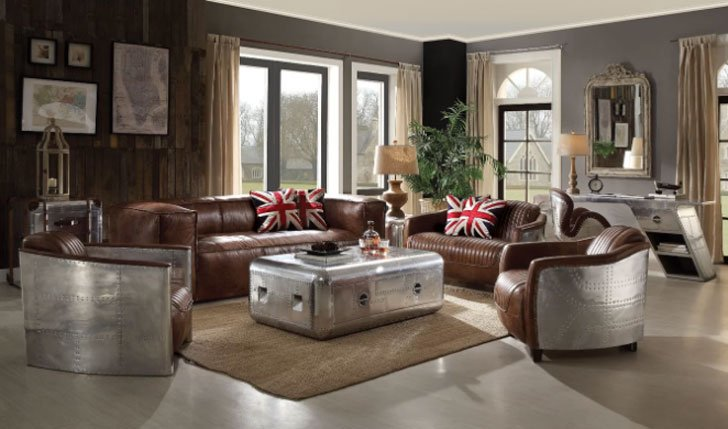 Annessia Configurable Living Room Set