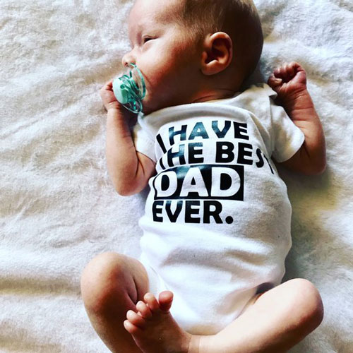 Best Dad Ever Bodysuit