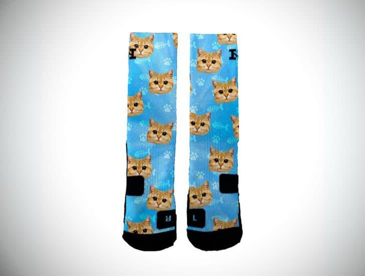 Customised Cat Socks
