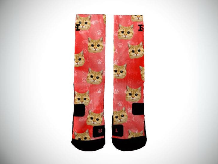 Customised Cat Socks