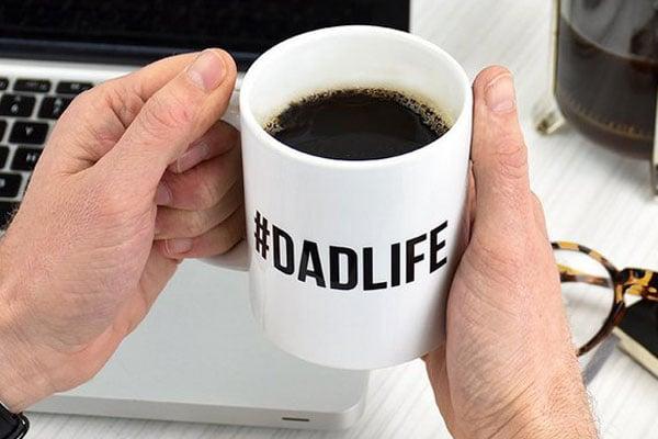 #DADLIFE Mug - New Dad Gifts