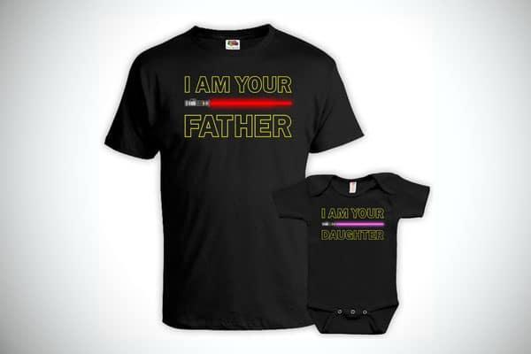 Dad And Baby Matching Shirts