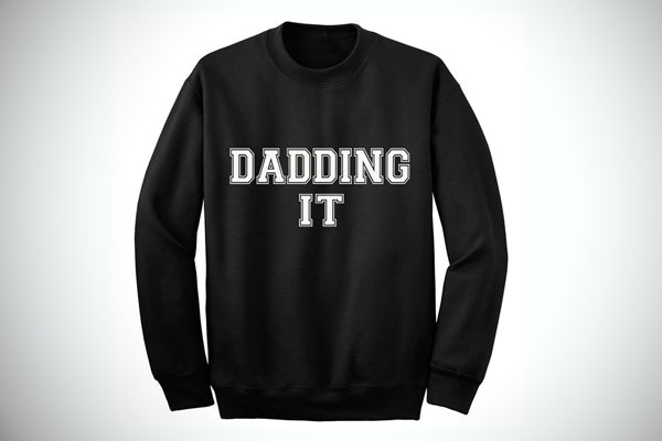 New Dad Gifts Dadding It Sweatshirt