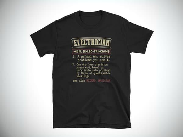 Electrician Definition Shirt