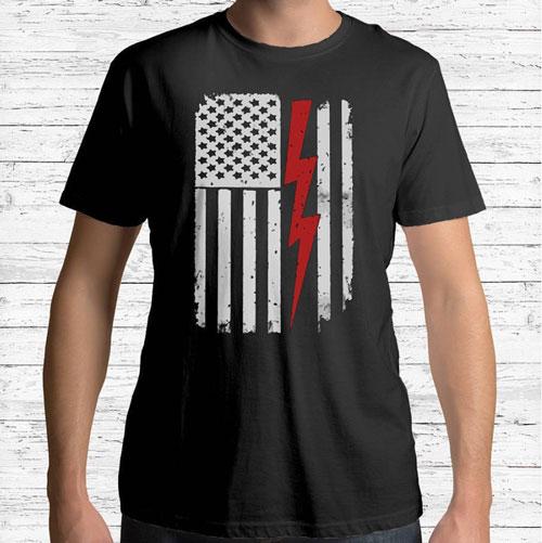 Electrician Shirt - Lineman Tee