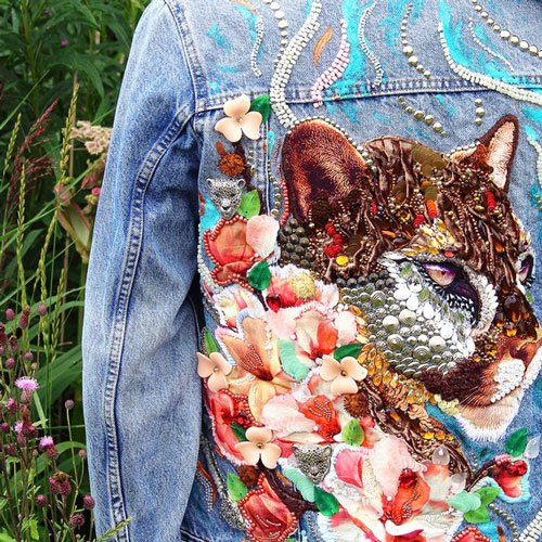 Embroidered Jean Jackets