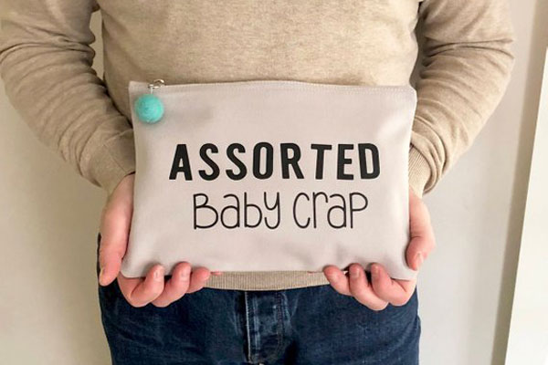 Funny Baby Changing Bag