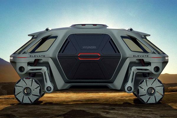 Hyundai's Walking Car Concept