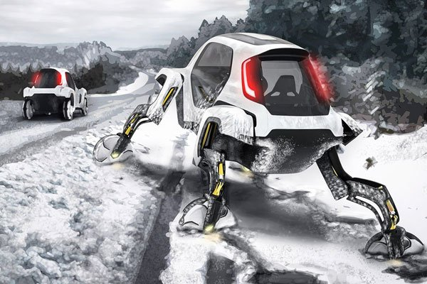 Hyundai's Walking Car Concept