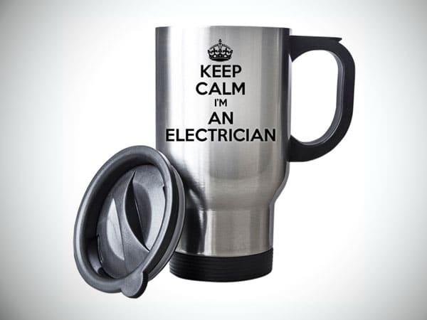 Keep Calm I'm An Electrician Travel Mug