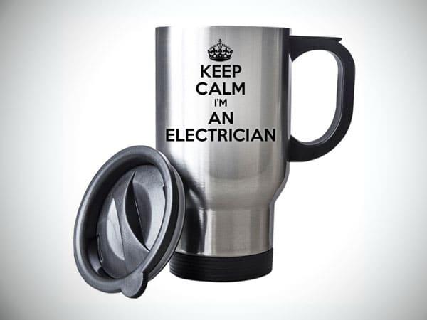 Keep Calm I'm An Electrician Travel Mug