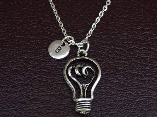 Light Bulb Necklace