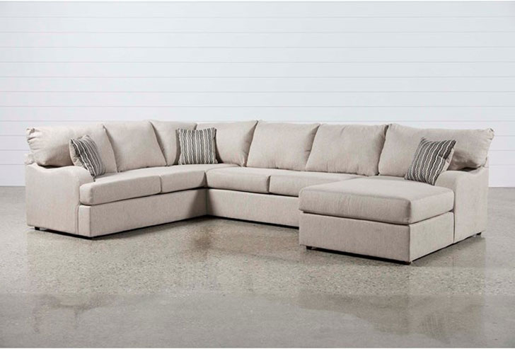 Meyer 3 Piece Sectional W/Raf Chaise