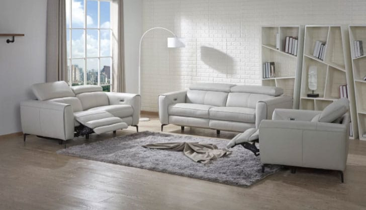 Nakale Reclining Configurable Living Room Set