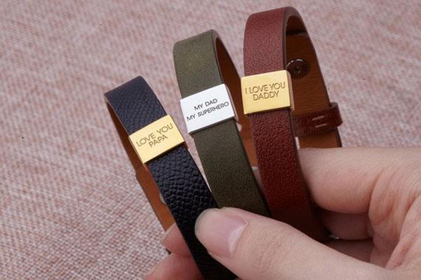 New Dad Personalized Bracelet