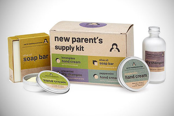 New Parent's Supply Kit