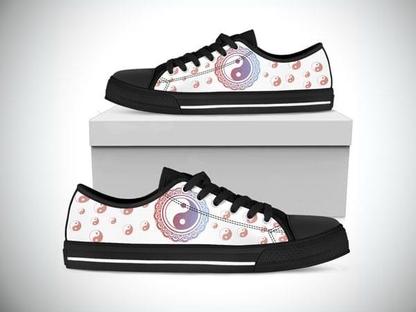 Peace Pastel Low Top Shoes