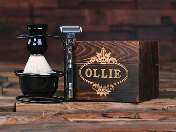 Personalized Monogrammed Shaving Kit