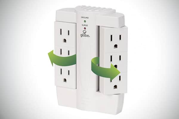 Swiveling Outlet Surge Protectors