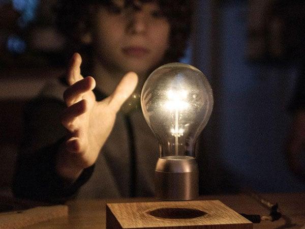 The Levitating Lightbulb