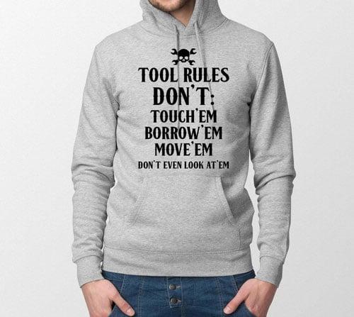 Tool Rules Hoodie