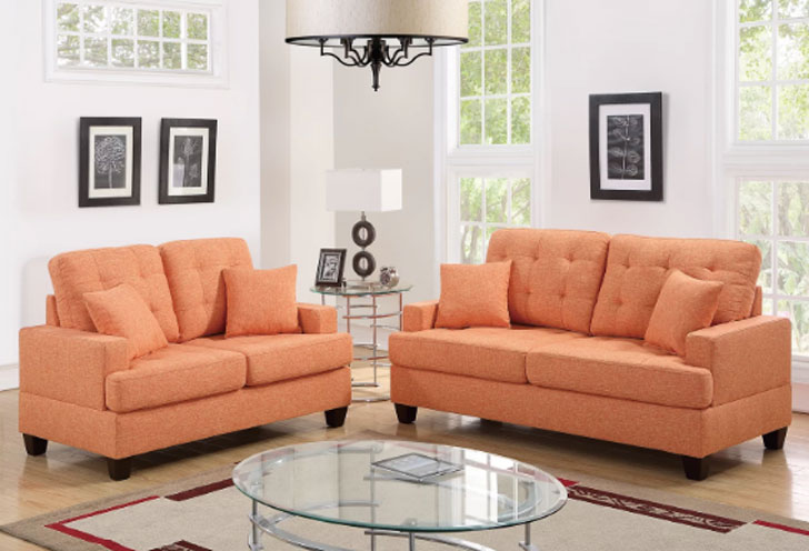 Winston Porter Saphira 2 Piece Living Room Set