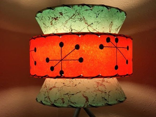 3 Tier Starburst Atomic Lamp Shade