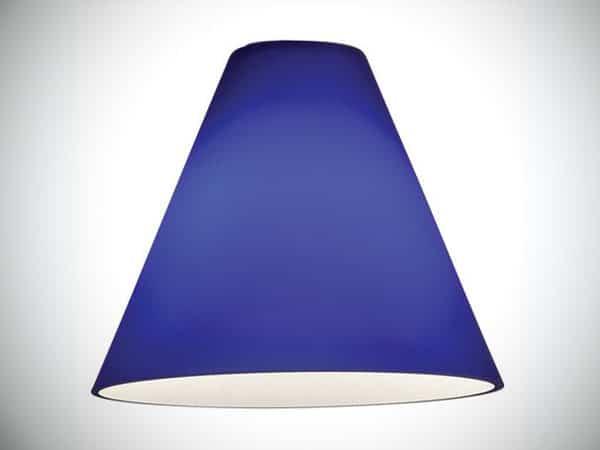 "7"" Glass Empire Lamp Shade"