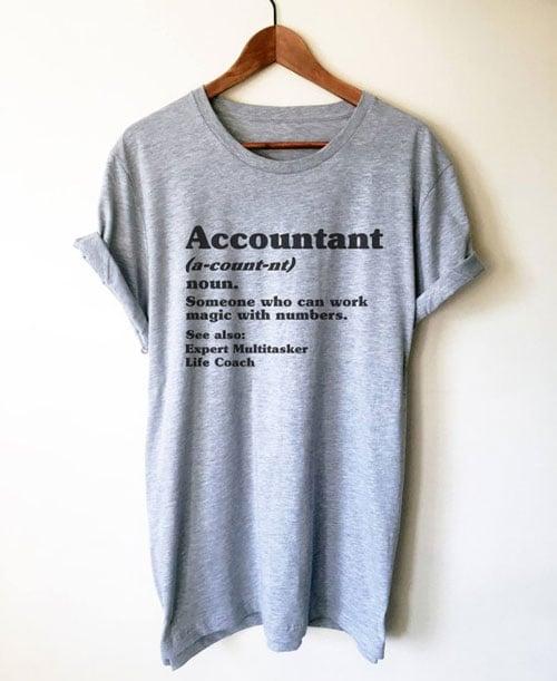 Accountant Definition Unisex T-Shirt