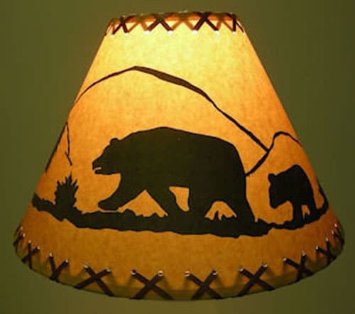 Bear-Scene-Lamp-Shade
