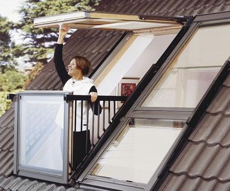Convertible Balcony Windows