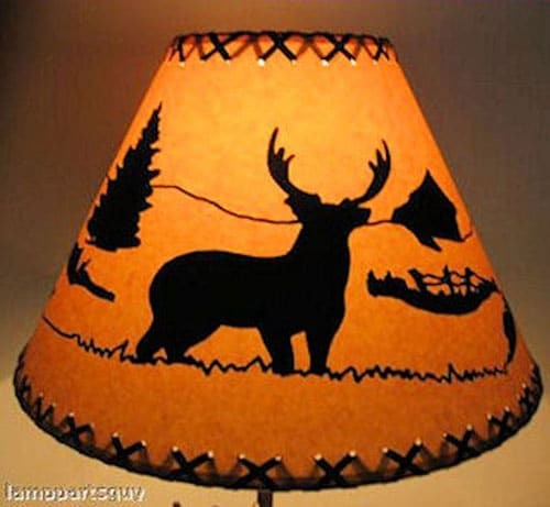 Deer Scenic Lamp Shade