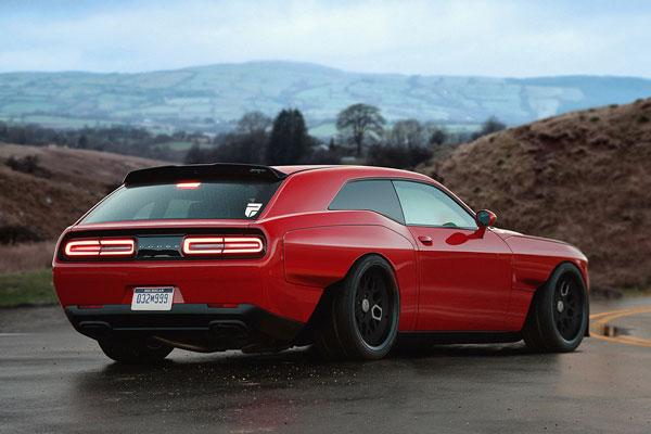 Dodge Demon Shooting Brake Concept