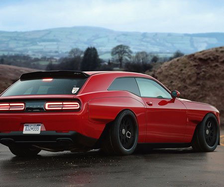 Dodge Demon Shooting Brake Concept