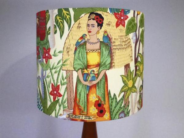 Frida Cream Lampshade