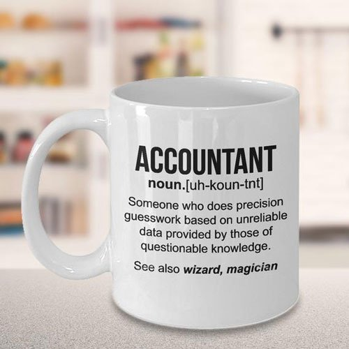 Funny Accountant Definition Coffee Mug