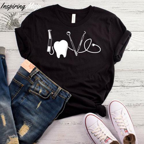 Love Dentist T-Shirt or Hoodie