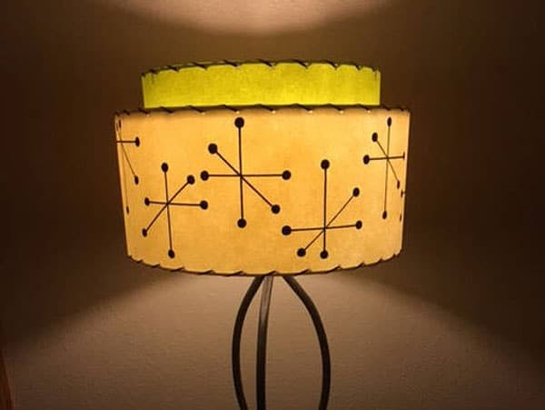 Mid Century 2 Tier Lamp Shade