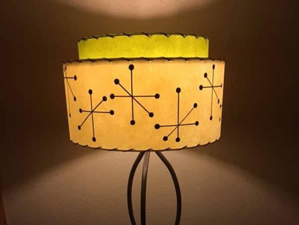 Mid Century 2 Tier Lamp Shade