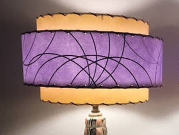 Mid Century Style 3 Tier Retro Lamp Shade
