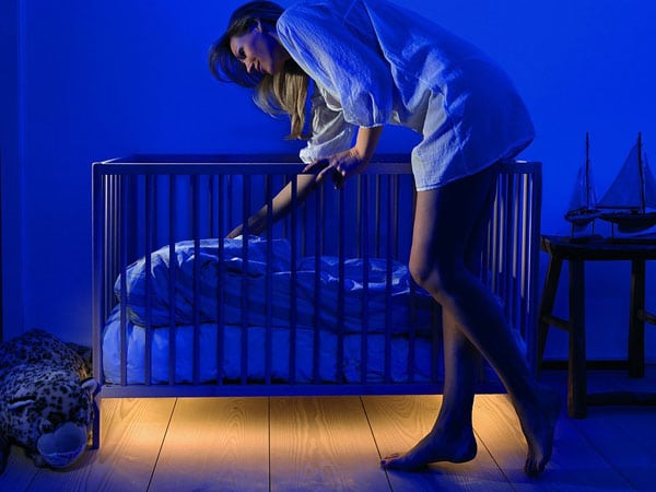 Motion Activated Under-Bed Light
