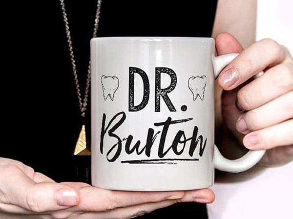 Personalized Custom Dentist Mug