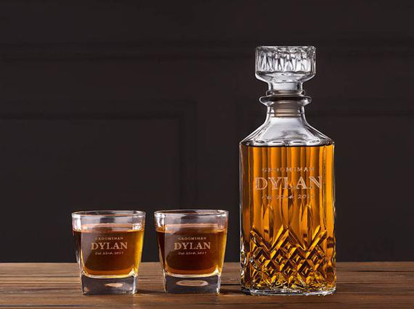 Personalized Decanter Sets
