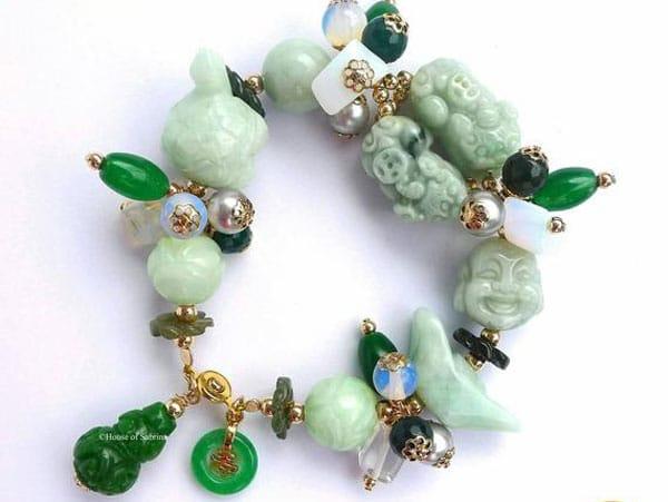 Pi Yao 59 - Jade Gemstone Lucky Charm Bracelet