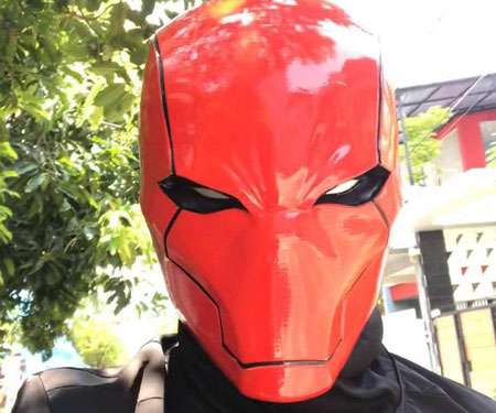 Red Hood Rebirth Helmet