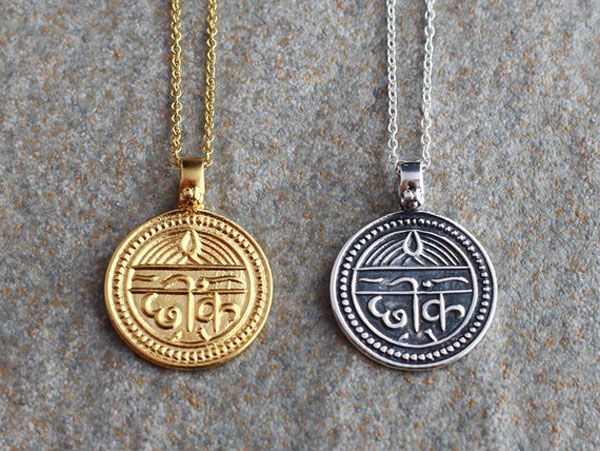 Sanskrit Good Luck Necklaces
