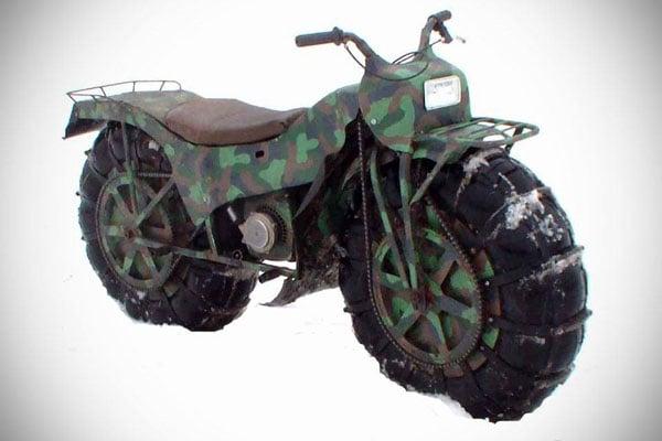 Tarus 2×2: All-Terrain Folding Motorbike