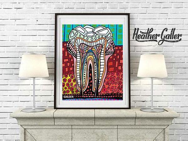 Tooth Art Dentistry Print